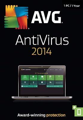 AVG AntiVirus 2014, 1-User 1-Year