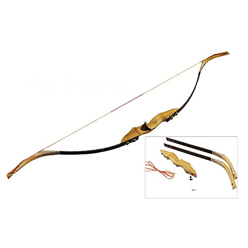30-50 Lb Takedown Bow Wood Riser Left Right Handed