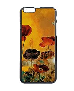 """Cool Vintage Floral Pattern Hard Customized Case Cover , Iphone 6 (4.7"""") Case Cover, Protection Quique Cover, Perfect Fit, Show Your Own Personalized Phone Case for Iphone 6 - 4.7 Inches"""