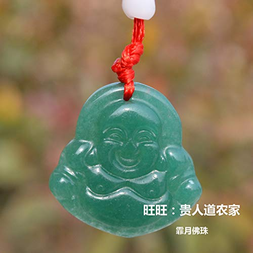 genuine natural jade guanyin buddha necklace pendant for sale  Delivered anywhere in Canada