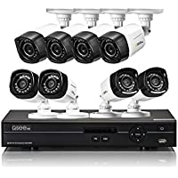 16 Channel HD Security System with 8 HD 720p Cameras QC9116-8V2-1