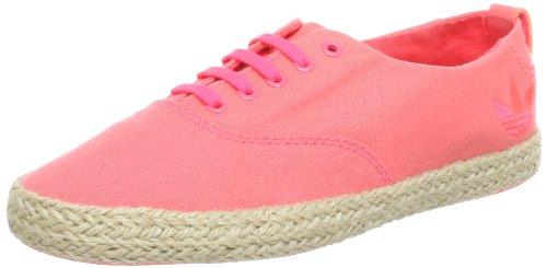 adidas Women's Azurine Low W Espadrilles Pink - Pink (Red Zest S13 / Red Zest S13 / Red Zest S13)