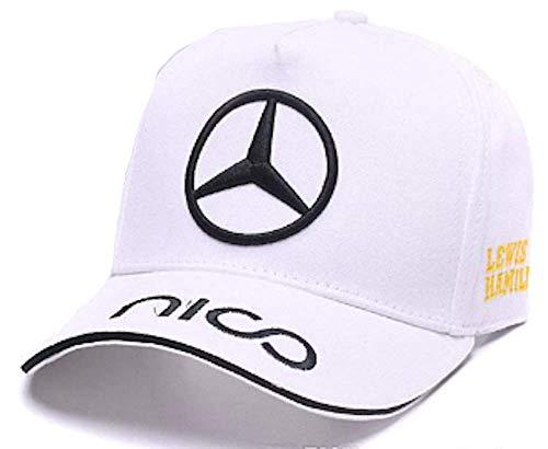 Formula 1 AMG Mercedes Racing Team Cap (White) (Best Formula One Races)