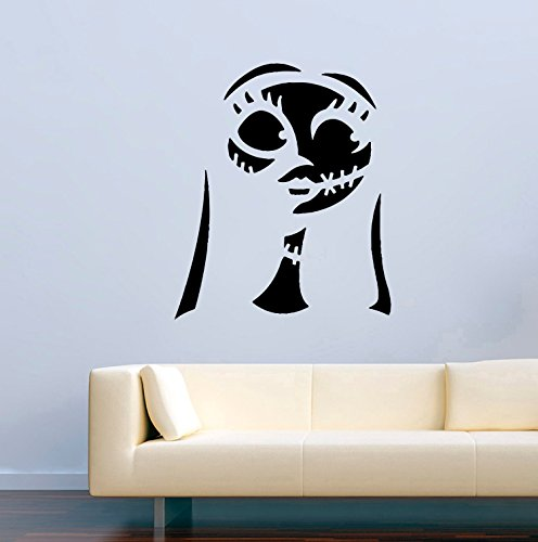 Monster Dead Horror Vinyl Wall Decals Jack Skellington
