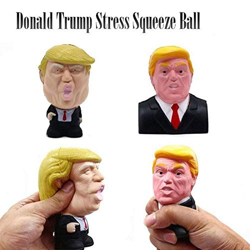 Ladiy Novelty Trump Donald Stress Squeeze Ball Squeeze Toys Growth Charts