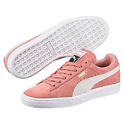 PUMA Women's Suede Classic Trainers Sneakers, Brown (Cameo Brown-Puma White), 5.5 US