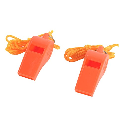 100 Pack of Survival Emergency Waterproof Whistles