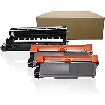 (1Drum+2Toner) Inktoneram Replacement High Yield toner cartridges & drum for Brother TN660 TN630 DR630 DR-630 TN-660 TN-630 MFC-L2700DW MFC-L2720DW MFC-L2740DW HL-L2300D HL-L2320D HL-L2340DW