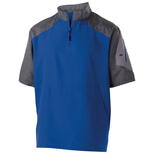 Men's Raider Pullover S/S Holloway Sportswear 3XL Carbon Print/Royal (Holloway Sportswear)