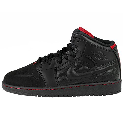 Air Jordan 1 Retro 99 (GS) Big Kid Basketball Shoes 654962 001, 5.5 (Air Jordan 1 Retro 99)