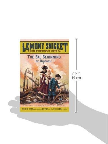 The Bad Beginning book summary   YouTube