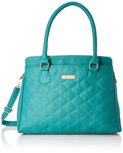 - Lica Pezo Quilt Women Handbag (Turquoise)