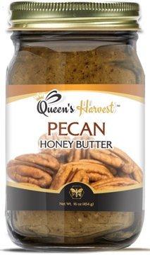 Queens Harvest Pecan Honey Butter - 16 Ounce