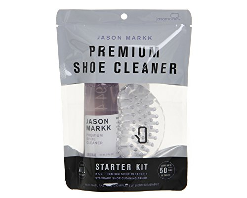 (Jason Markk Premium Shoe Cleaner Starter Kit, Purple, One Size)