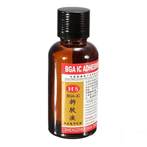 30ml IC BGA Chip Epoxy Glue Remover Adhesive Solution Solvent Liquid