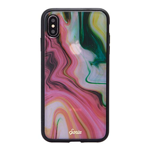 iPhone Xs Max Case, Agate Cell Phone Case [Military Drop Test Certified] Protective Luxe Marble Series for Apple iPhone Xs MAX