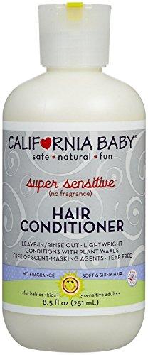 California Baby hair Conditioner - Super Sensitive, 8.5 Ounce