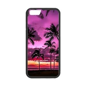 Beautiful Beach theme for iPhone 6 4.7'' hard back case
