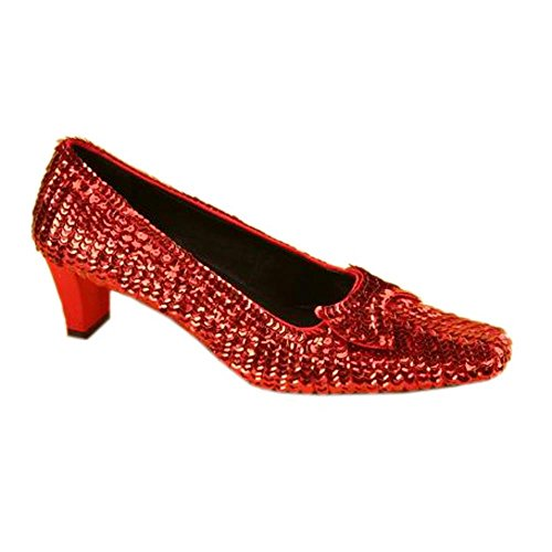 Deluxe Dorothy Shoes (Adult Women's Deluxe Dorothy Shoes (Size:Medium 8))