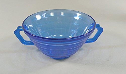 Hazel-Atlas Glass MODERNTONE-COBALT BLUE Cream Soup Bowl(s) Multi Avail EX