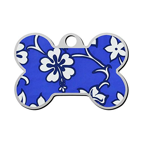 YIGEREEN Personalized Collar Tag Pet ID Tags Cat Dog - Bone Shape ()