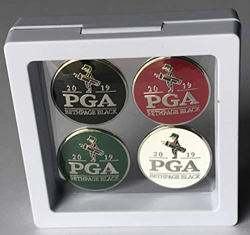 2019 Pga golf ball marker set bethpage black championship new york new 4 markers