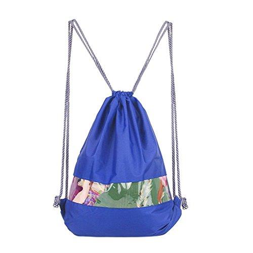 Waterproof Drawstring Shoulder School Backpack