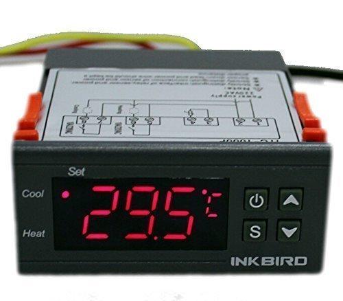 203 opinioni per Inkbird ITC-1000 220V Dual Relè Termoregolatore Digitale Regolatore di