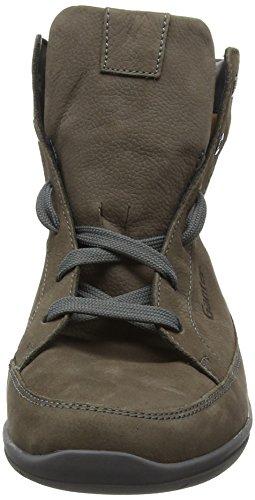 Ganter Gill, Weite G, Sneaker Alte Donna Grigio (Grau (Asphalt 6100))