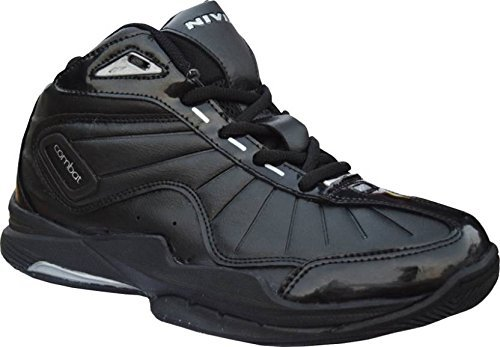 Black Combat Synthetic Basketball Shoes