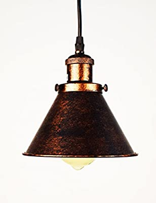 Lumans Vintage Industrial Nautical Barn Pendant Light Single Pendant Lamp Lighting Fixture Ceiling Light