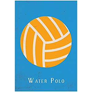 Water Polo Poster 13 x 19in
