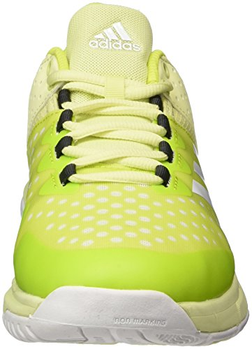 de Stabil Chaussures F16 White Ftwr Yellow Ice adidas Black Utility F16 Court Femme Running W Multicolore qtSZI5w
