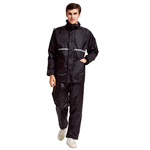 Peacoco Motorcycle Waterproof Rainwear Trouser
