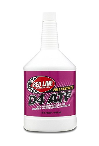 Red Line Oil Synthetic D4 Automatic Transmission Fluid (6)
