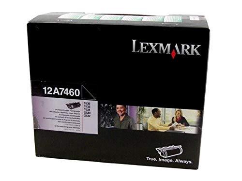 Lexmark 12A7460 Black Return Program Toner Cartridge