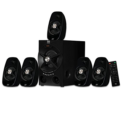 Blue Octave Home 5.1 Speaker System 5.1-Channel Bluetooth Home Theater Speaker System, Black (600 Watt 12' Subwoofer Bass)