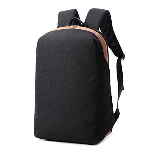 Mochila De Viaje De Moda Mochila De Carga Multiusos Bolsa De Ordenador De Seguridad USB Black