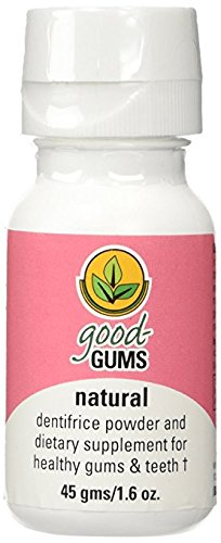 Good Gums Natural Dentifrice Powder & Dietary Supplement for Brushing Teeth (Pack of 2)