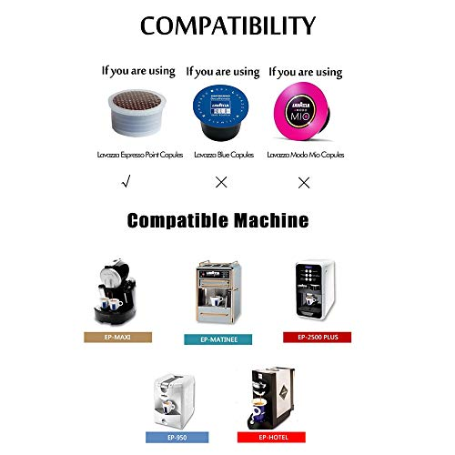 MG Coffee Stainless Steel Reusable Capsules Metal Permanent Coffee Pods Holder Compatible for Lavazza Espresso Capsules Coffee Machine Make Crema,with Tamper by MG Coffee (Image #7)
