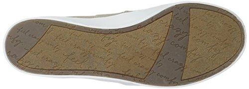 Dr. Scholls Schoenen Vrouwen Luna Sneaker Eenvoudig Taupe Hagedis Afdrukken