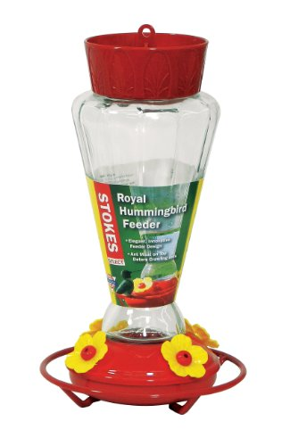 stokes-select-royal-hummingbird-feeder-with-four-feeding-ports-28-oz-nectar-capacity