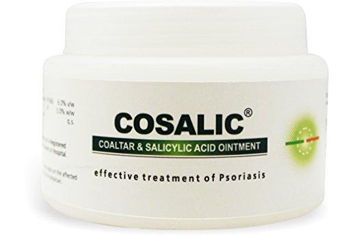 Psoriasis Coal Tar Salicylic Acid 100gm by - Coal Ointment Tar