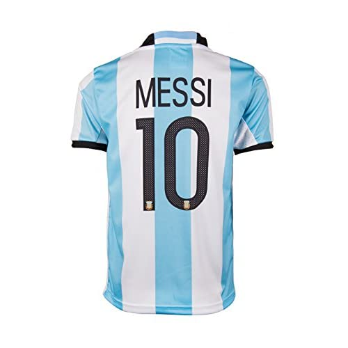 EGS Argentina #10 Messi Home Kids Jersey & Shorts - 2016/17