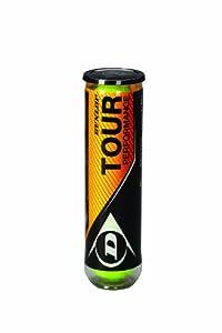 Dunlop Tennisbälle Tour Performance 4er, Gelb, One Size, 602199