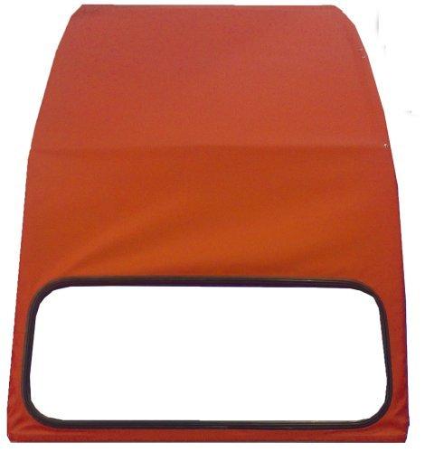 TOPCAR Capote 2CV rouge vallelunga, neuve avec ouverture exté rieure neuve avec ouverture extérieure