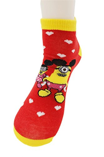 Despicable me Minion Socks Micky and Minnie Cosplay
