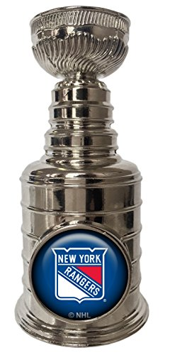 NY Rangers Mini Replica Stanley Cup Trophy Paperweight 3.25 inches Tall
