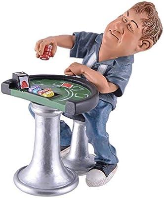 Vogler Funny Life - Juego de póquer con Mesa: Amazon.es: Juguetes y juegos