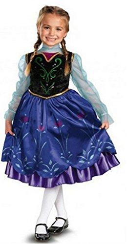 Frozen Deluxe Costume Enchanting Heights